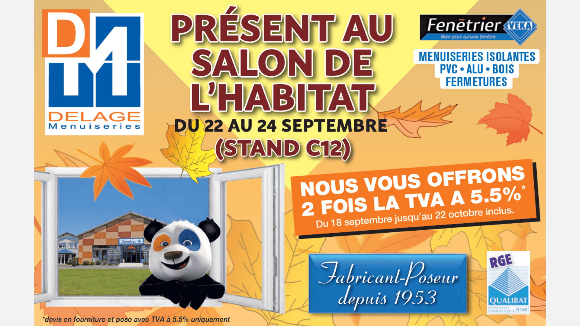 Salon de l habitat de limoges 2017 delage menuiseries for Salon de l habitat brive